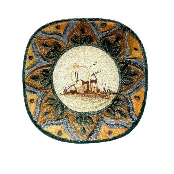 Persian Pottery Plate Model Ahoo
