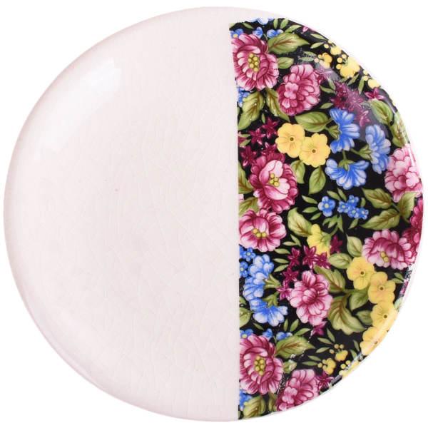 Persian Pottery Plate Model Night Garden