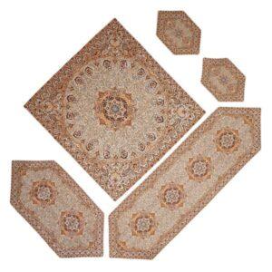 Persian Set of 5 Termeh Tablecloth Model Narges