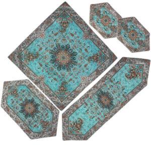 Persian Set of 5 Termeh Tablecloth Model Soren