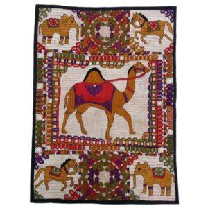 Persian Suzani Embroidery Tablecloth Model Geometric