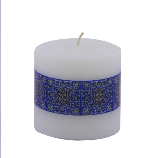 Iranian Candle Model Blue Kashi (X2)