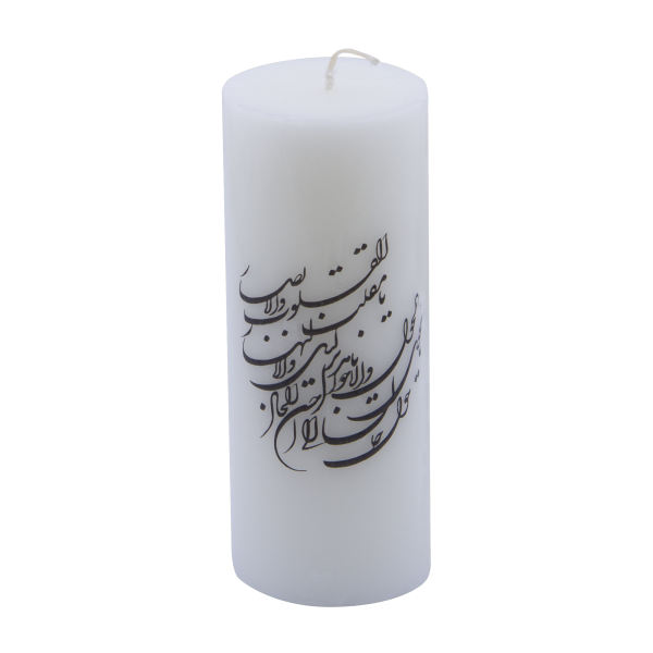 Iranian Candle Model Golden Poetry (X2)