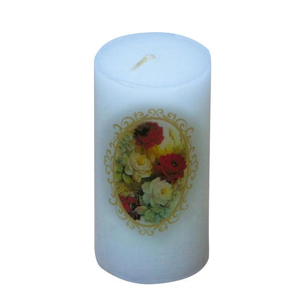 Iranian Candle Model Purple Flower (X4)