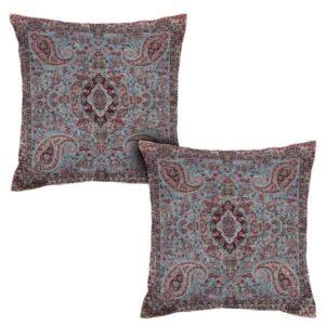Iranian Termeh Cushion Cover Model Banafshe (2X)