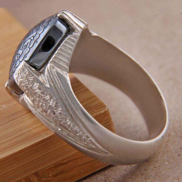 Islamic Men's Hadeed Ring Model Maahin