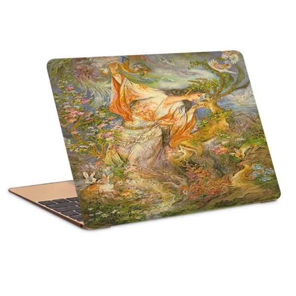 Persian 15.6 Inch Laptop Skin Model Farshchian Miniature