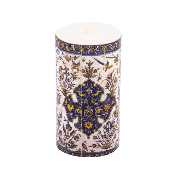 Persian Candle Model Blue Kashi (X3)