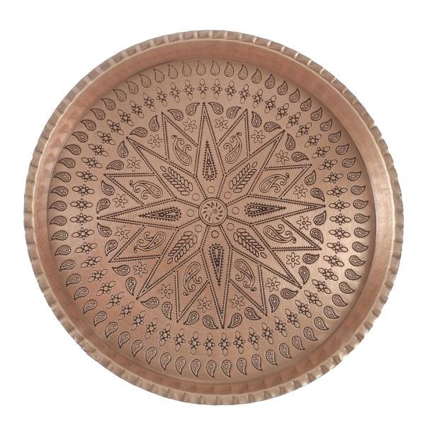 Persian Copper Serving TeaTray Model Hakaki