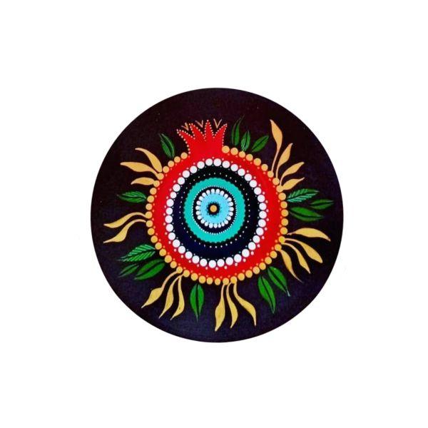 Persian Pottery Plate Model Anar & Nazar