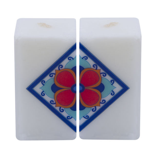 Persian Set of 2 Candle Model Cube
