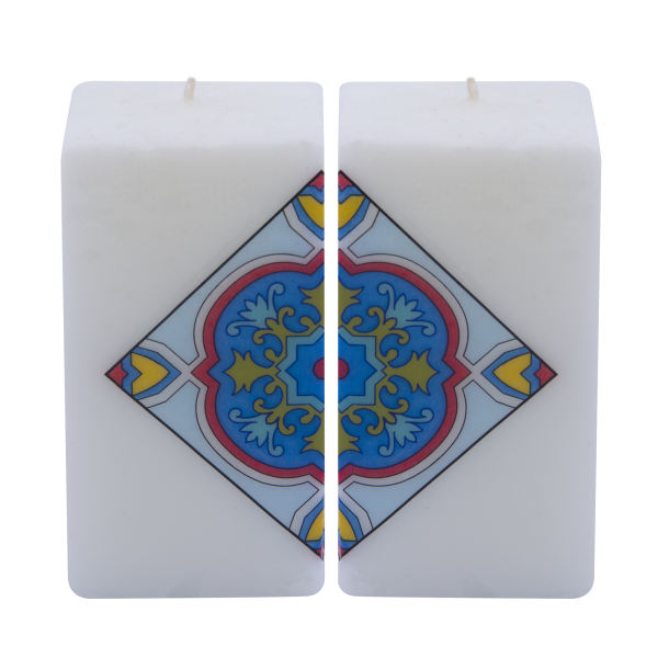 Persian Set of 2 Candle Model Cube01