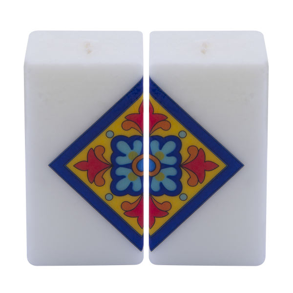 Persian Set of 2 Candle Model Cube02