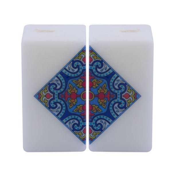Persian Set of 2 Candle Model Cube03
