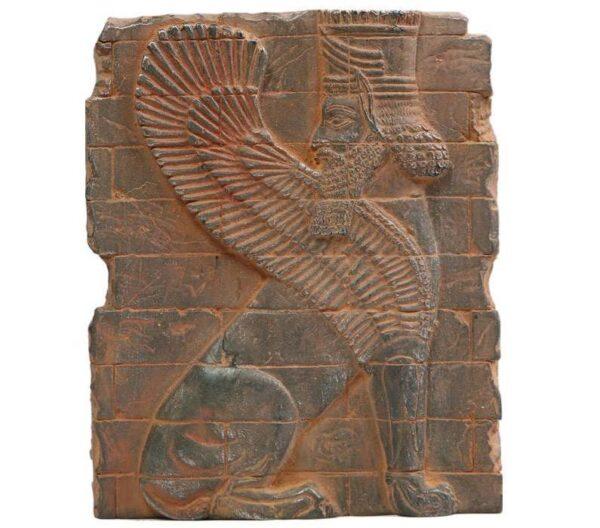 Persian Winged Lion Bricky Legendary Inscription