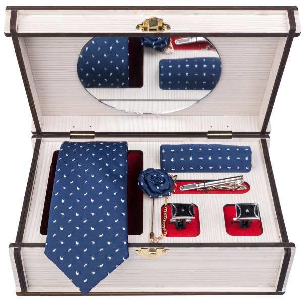 Set of Tie & Handkerchiefs & Cufflinks Model Ahmadi