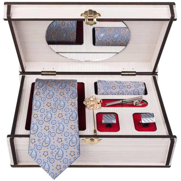 Set of Tie Handkerchiefs & Cufflinks Model Arash