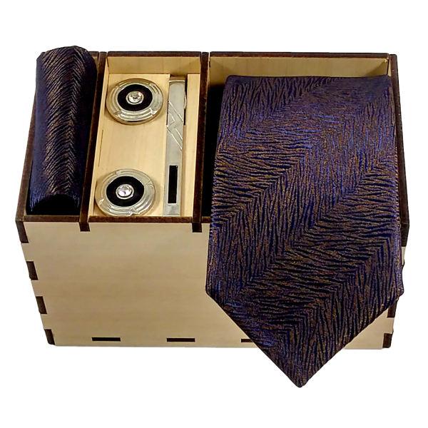 Set of Tie Handkerchiefs & Cufflinks Model T490