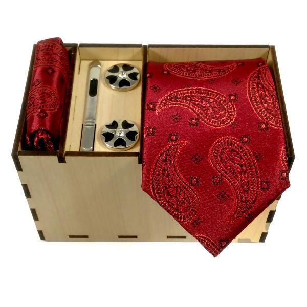 Set of Tie Handkerchiefs & Cufflinks Model T494