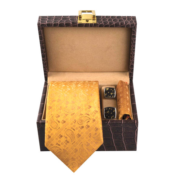 Set of Tie & Handkerchiefs & Cufflinks Model Tala