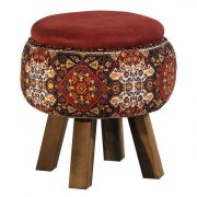 Persian Footstool Pouf Model Carpet